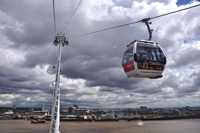 London : Royal Borough of Greenwich - Emirates Air Line