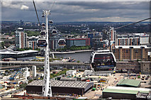 TQ3980 : London : Royal Borough of Greenwich - Emirates Air Line by Lewis Clarke