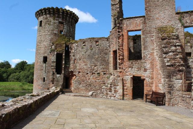 Caerlaverock Castle, The West Range