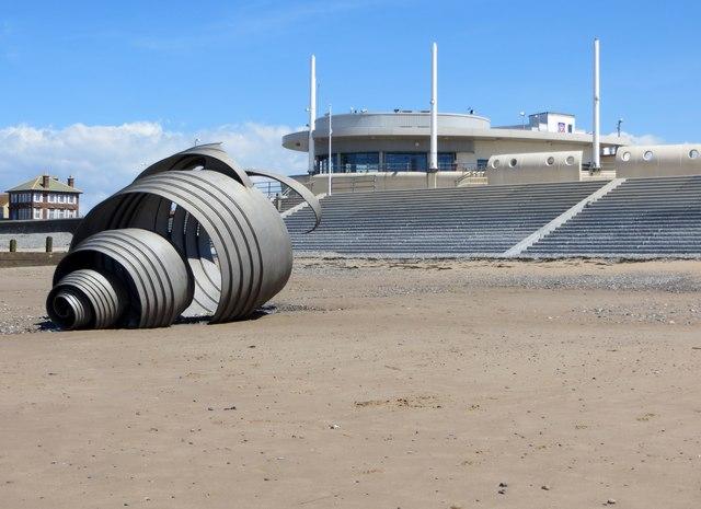Mary's Shell, Cleveleys beach