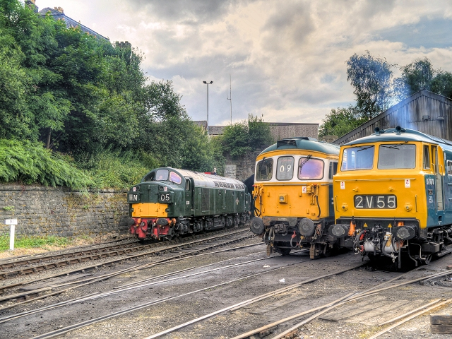 East Lancashire Railway Summer Diesel Gala 2014