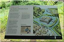NY0265 : Old Caerlaverock Castle History by Billy McCrorie