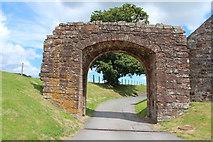 NY0265 : Archway at Caerlaverock Castle by Billy McCrorie