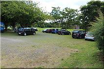 NY0265 : Car Park at Caerlaverock Castle by Billy McCrorie
