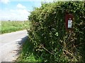 SU6231 : Post box at the junction of Old Park and Tegg Down Roads by Christine Johnstone