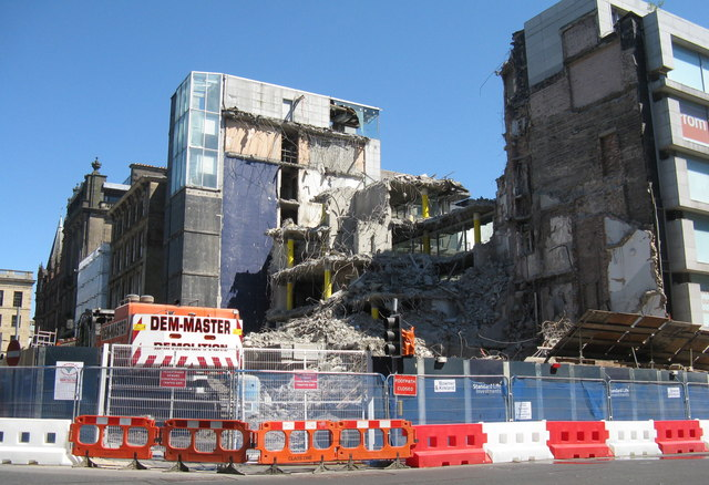 Demolition, St Andrew Square
