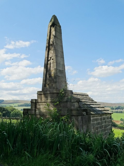 Edgefield Obelisk by Hoar Stones Road