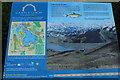 NY0882 : Castle Loch Information Board by Billy McCrorie