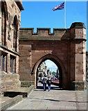 NY4055 : Citadel Arch by Mary and Angus Hogg