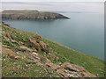 SM7308 : South Castle, Skomer Island by Hugh Venables