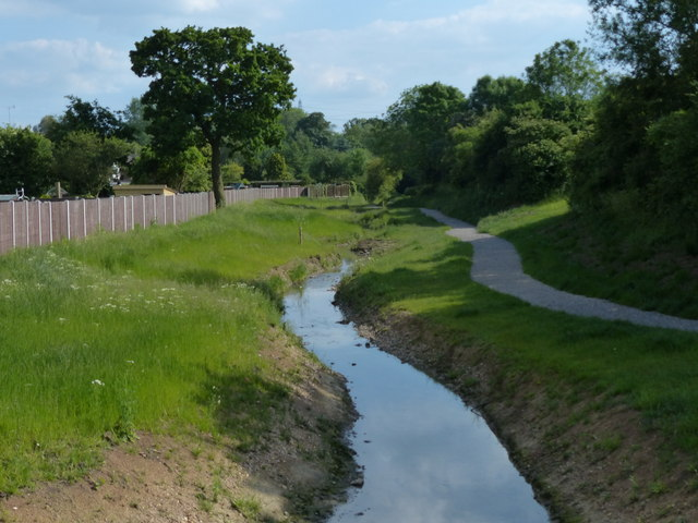 Lubbesthorpe Brook in Braunstone