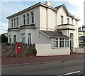 SX9164 : Large postbox in a wall, St Luke's Road, Torquay by Jaggery