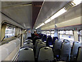 NZ4920 : Interior of a class 156 train at Middlesbrough by John Lucas