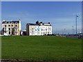 NZ5230 : Houses on The Green, Seaton Carew by John Lucas