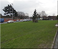 ST3390 : Across Goldcroft Common, Caerleon by Jaggery