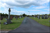 NY1281 : Dryfesdale Cemetery by Billy McCrorie