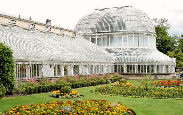 The Palm House, Botanic Gardens, Belfast (July 2014)