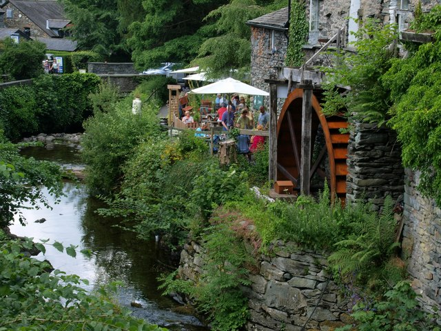 The Water Wheel at the Old Mill