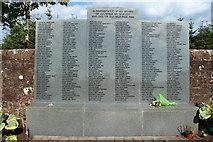 NY1281 : Lockerbie Air Disaster Memorial by Billy McCrorie