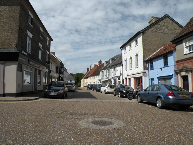 Market Place at Saxmundham