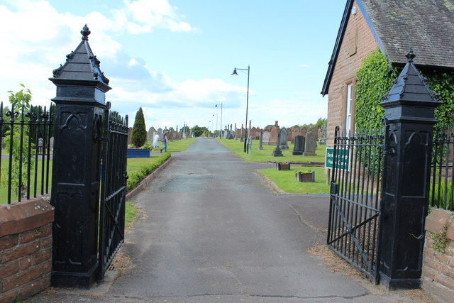 Main Entrance to Dryfesdale Cemetery