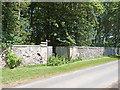 NT7136 : Newton Don estate by Oliver Dixon