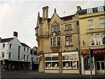 SP0202 : Former John Jefferies building Market Place Cirencester by Paul Best