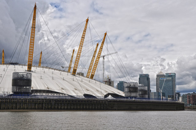 London : Royal Borough of Greenwich - River Thames & O₂ Arena
