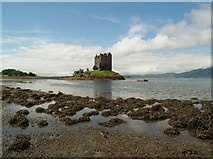 NM9247 : Castle Stalker by Euan Nelson