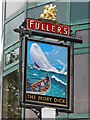 TQ3679 : The Moby Dick sign by Oast House Archive