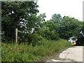 TL2279 : Footpath and track at Dam Bridge, Wennington by Richard Humphrey