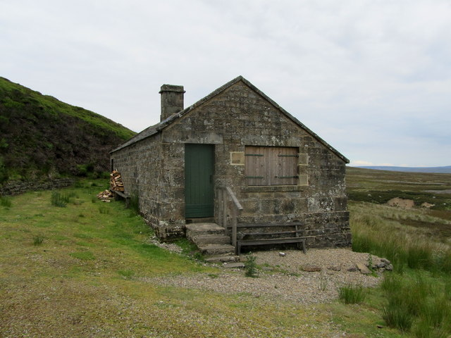 Shooting Hut above Cross Gill (1)