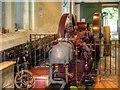SJ4282 : Hornsby-Akroyd Engine at Speke Hall Home Farm by David Dixon