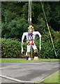 SK9487 : Scarecrow on Kexby Road, Glentworth by Ian S