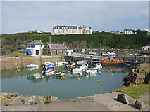 NW9954 : Portpatrick Harbour by G Laird
