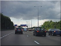 TQ0464 : Runnymede : The M25 by Lewis Clarke