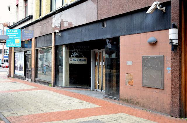 Ground floor, Sinclair House, Belfast (July 2014)