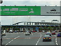 TQ5675 : The Toll Plaza at the Dartford Tunnel by Ian S
