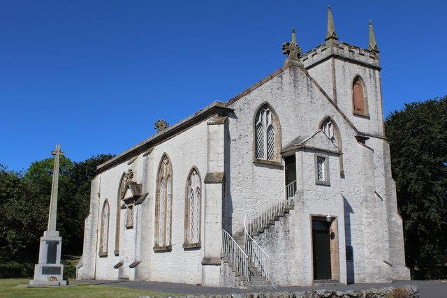 Kirkcowan Parish Church & War Memorial