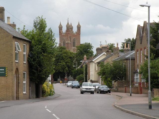 The High Street at Cottenham