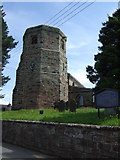 SJ9743 : All Saints Church, Dilhorne by JThomas