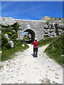 SY6872 : Lano's Bridge, Tout Quarry by Oliver Dixon
