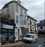 SX8751 : Market Street businesses in Dartmouth by Jaggery