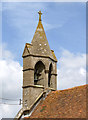 SU6385 : Church of St Mary the Virgin, Ipsden - bell turret by Alan Murray-Rust