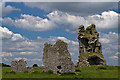 M5824 : Castles of Connacht: Clogharevaun, Galway (1) by Mike Searle
