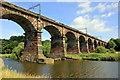 SJ5876 : The Dutton Viaduct by Jeff Buck