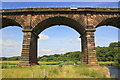 SJ5876 : An Arch on the Dutton Viaduct by Jeff Buck