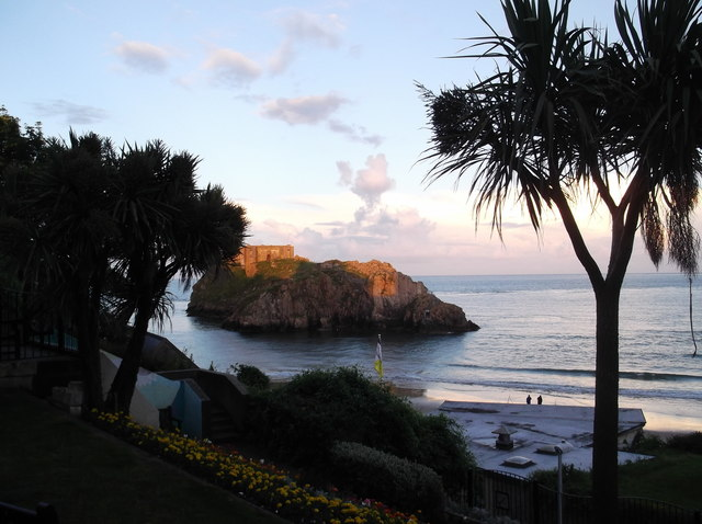 St Catherine's Island, Tenby at sunset
