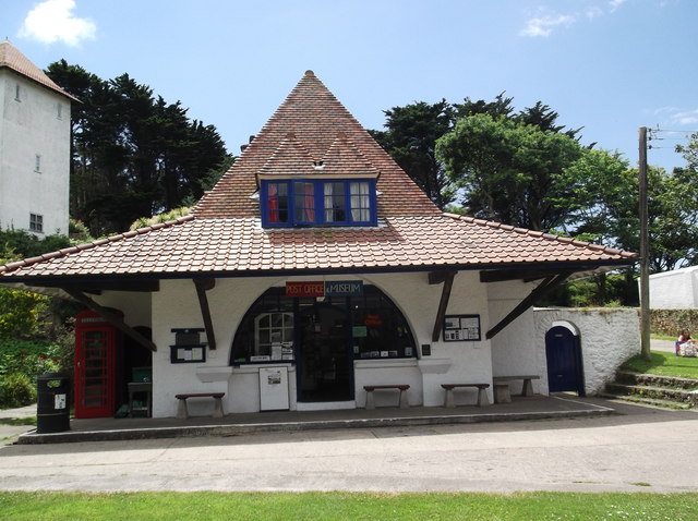 Post office and museum, Caldey Island