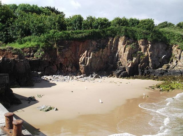 Beach, Caldey Island